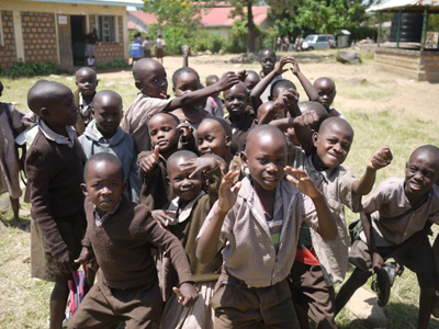 Children at Dunga Primary School, Kisumu, Kenya (2013)