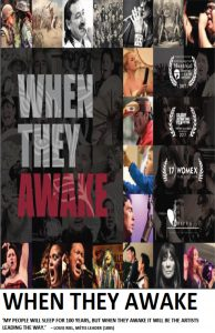 Image of promotional poster for When They Awake