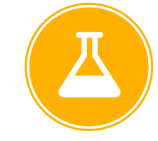 image of a stylized flask used as an icon