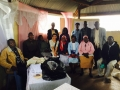 photo of Julie Farzana with a group of Kenya people