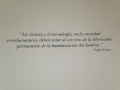 photo of a quote in Spanish